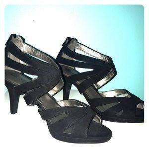Kelly & Katie black heels